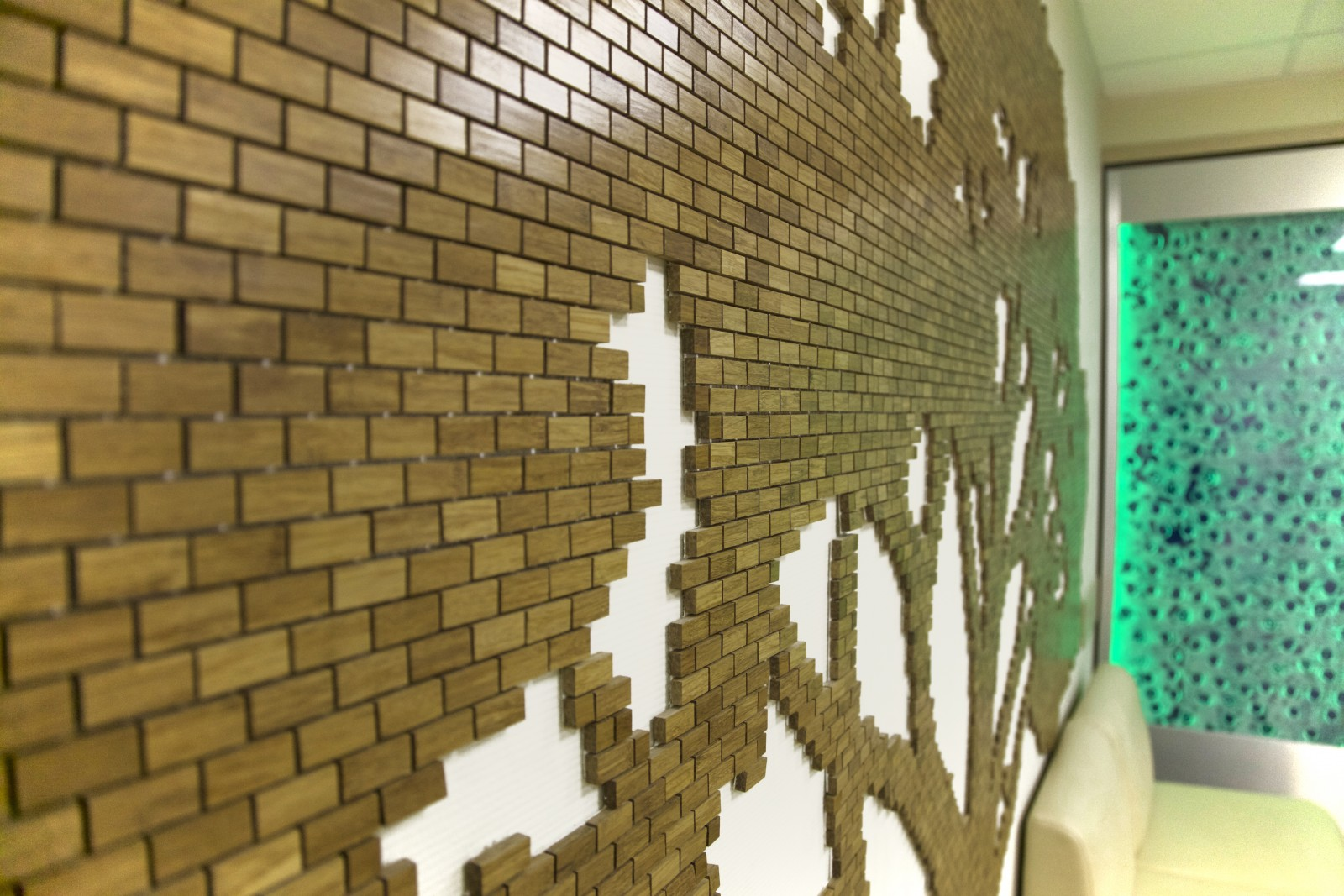 имиджевая стена